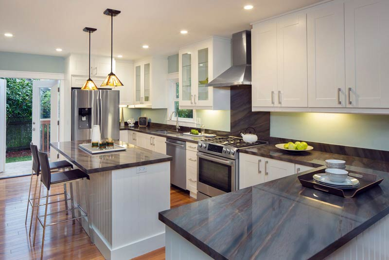 cabinets city granite kitchen nc countertops stone raleigh